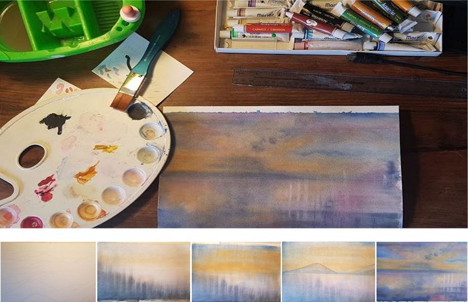 Regina Davila paint