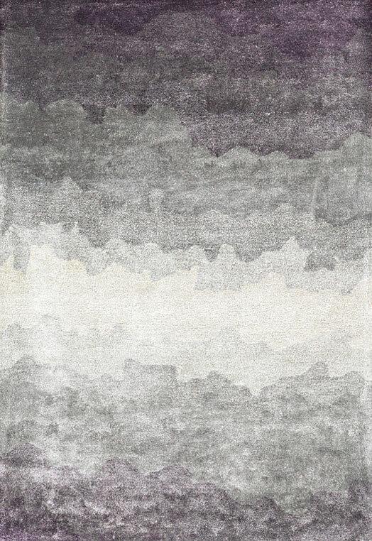 Mauve hand tufted rugs for home Delhi Mauve Carpets & Rugs