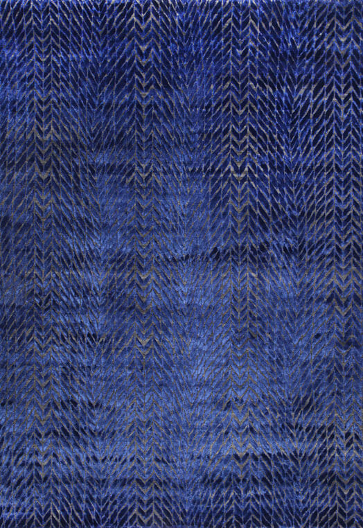 contemporary blue living room rugs chennai