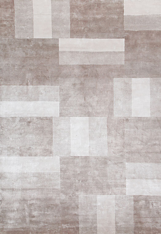 Contemporary Taupe living room rugs kolkota Taupe Carpets & Rugs