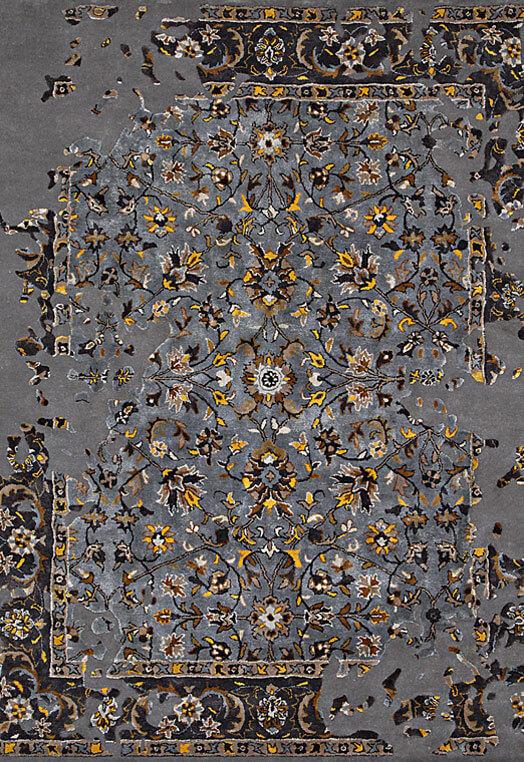 grey gold handmade rugs for rooms bengaluru