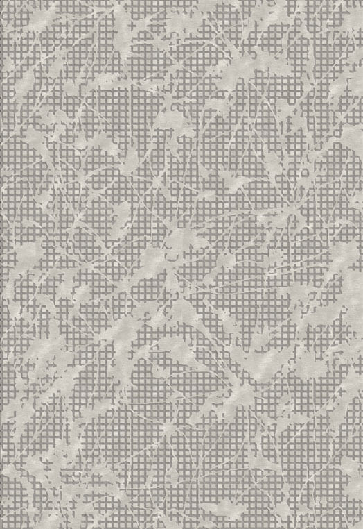 Taupe  designer hand tufted rugs in botanical silk and wool Taupe Carpets & Rugs