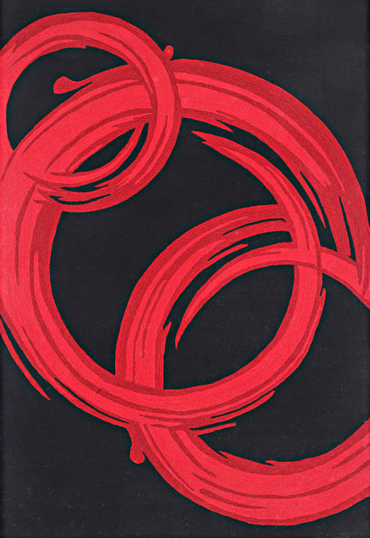 red black fine sculpted carpets in Kolkota Red & Black Carpets & Rugs