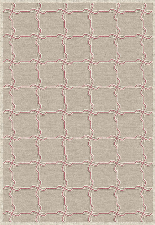 Persian carpets store Chennai Taupe Mauve Carpets & Rugs
