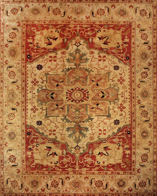 persian rug store Mumbai-P-36200 Multi Carpets & Rugs