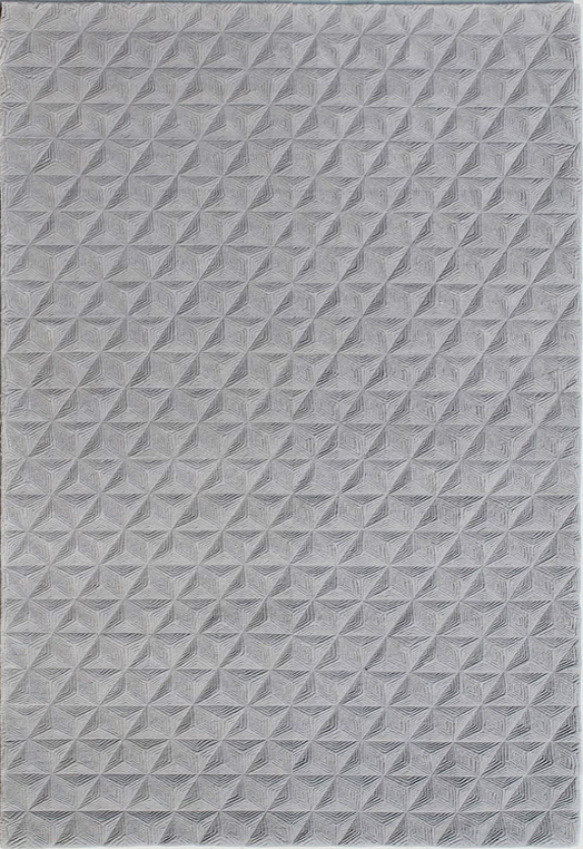 AMBONY Silver Light Grey Carpets & Rugs