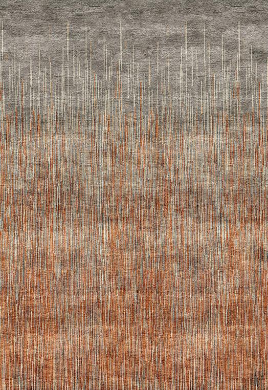 MOTLEY rust Rust Carpets & Rugs