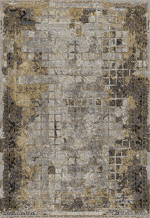 BELEZA Gold Gold Carpets & Rugs