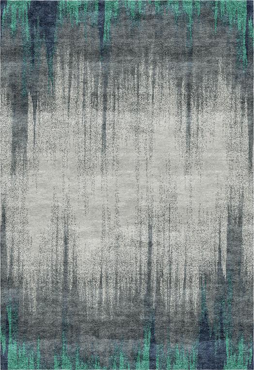 Mezzotint Blue  Carpets & Rugs