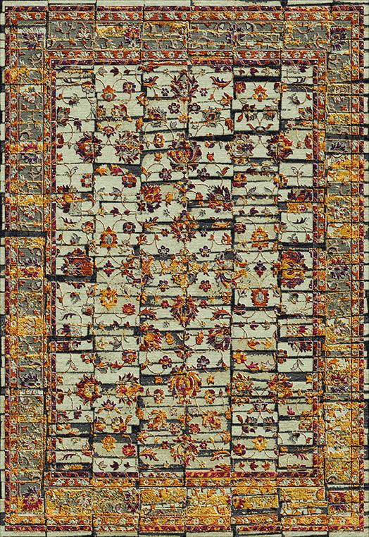 BONITO Rust Gold Carpets & Rugs