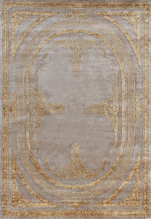 Amadeus Ivory Gold Carpets & Rugs