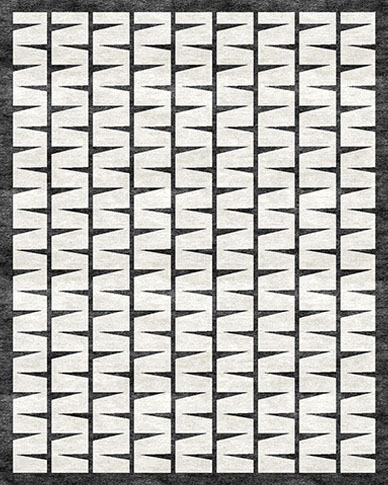 Array Black & White Carpets & Rugs
