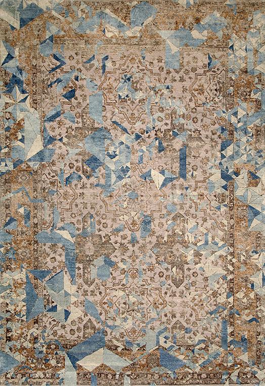 Elixir Blue Blue  Carpets & Rugs