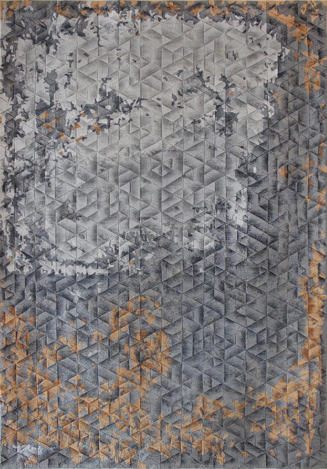 Estuary Rust Grey Carpets & Rugs