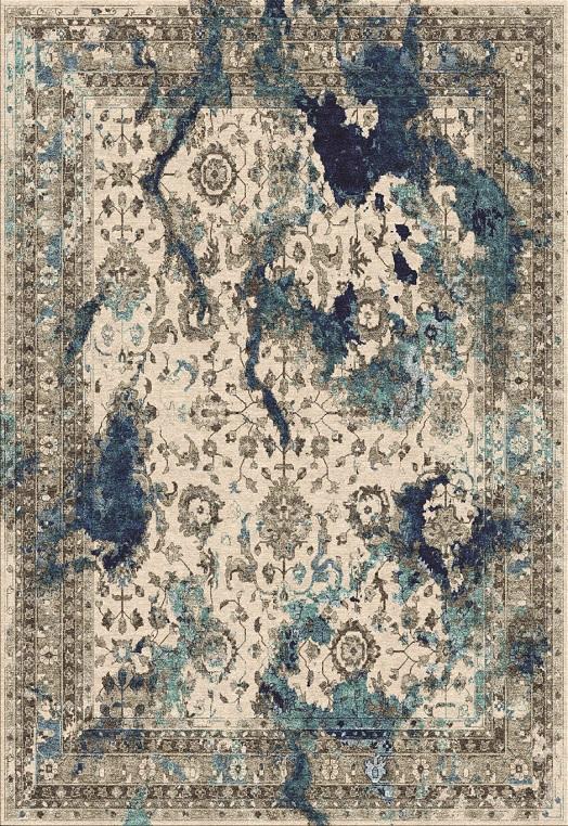 Flare Blue Blue  Carpets & Rugs