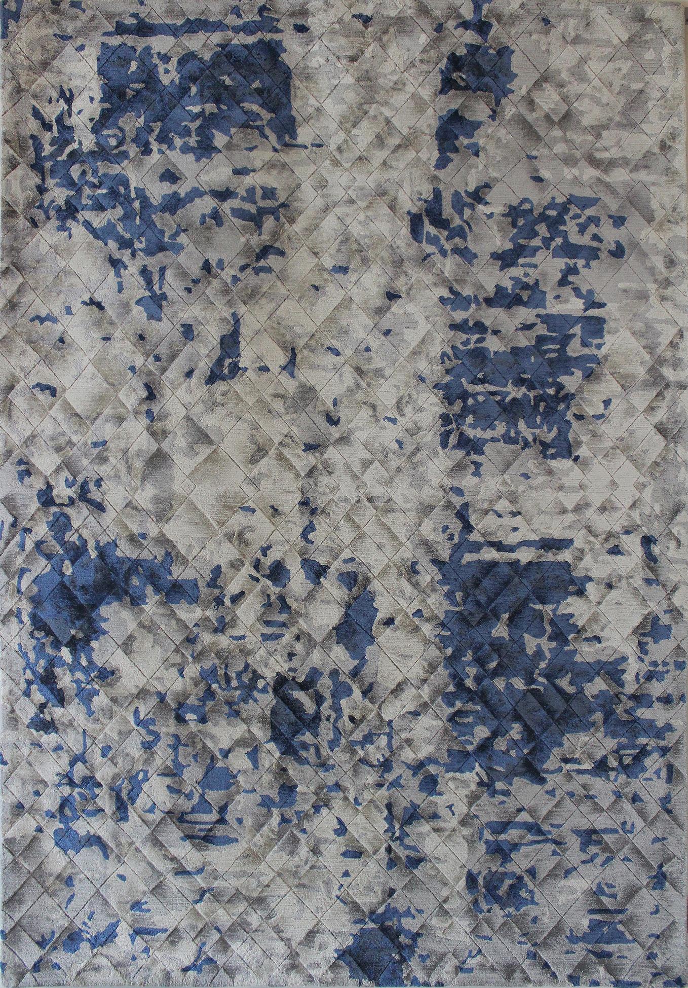 Mesa Beige Blue Carpets & Rugs