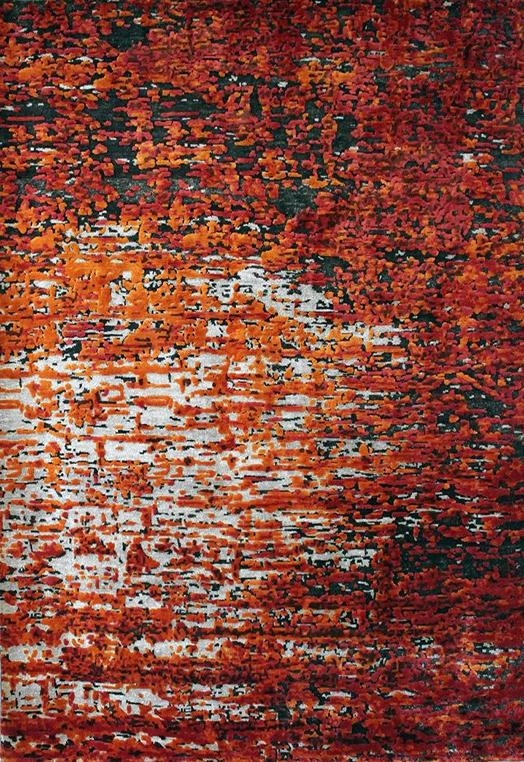 Mistral Rust Rust Carpets & Rugs