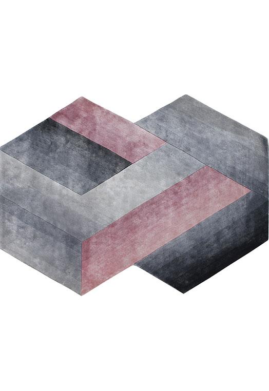 Prism Grey Mauve Carpets & Rugs