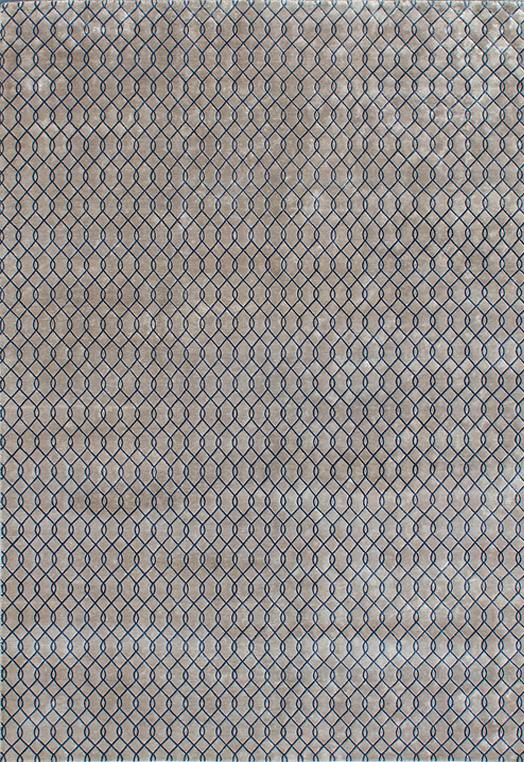 Lasso Beige Blue Beige Blue Carpets & Rugs