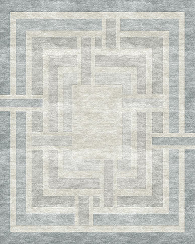 Verge Beige Blue Carpets & Rugs