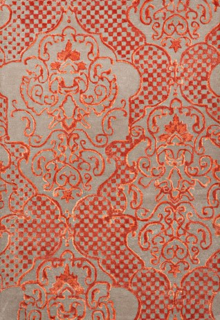 Elite Orange Beige Carpets & Rugs