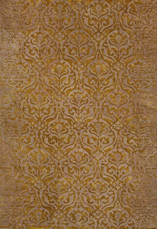 Rococo Beige Green Carpets & Rugs