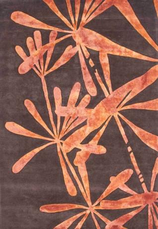 Iris Rust Carpets & Rugs