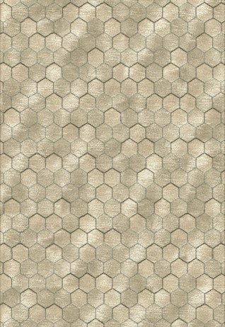 Honeycomb Beige Grey Carpets & Rugs