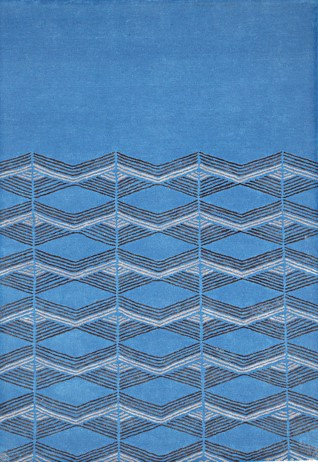 Como Blue  Carpets & Rugs