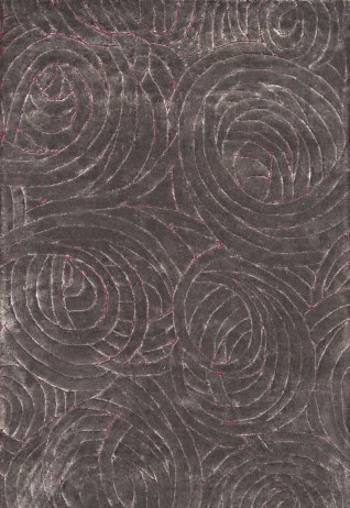 Volute Grey Mauve Carpets & Rugs