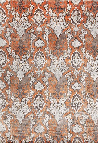 Alluriana Rust Beige Carpets & Rugs