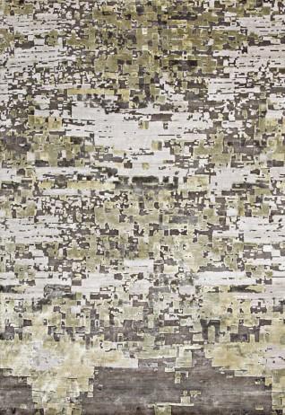 Metis Taupe Green Carpets & Rugs
