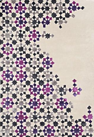 Star Grey Mauve Carpets & Rugs