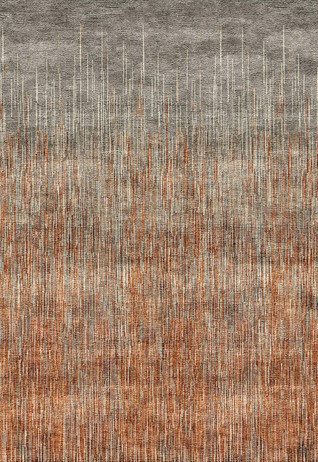 MOTLEY Rust Carpets & Rugs