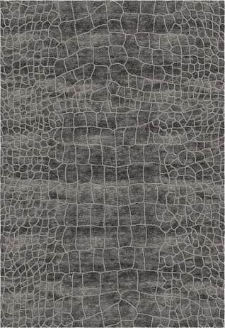 Croc Charcoal Carpets & Rugs