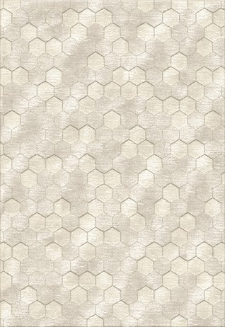 Honeycomb lvory Beige Carpets & Rugs