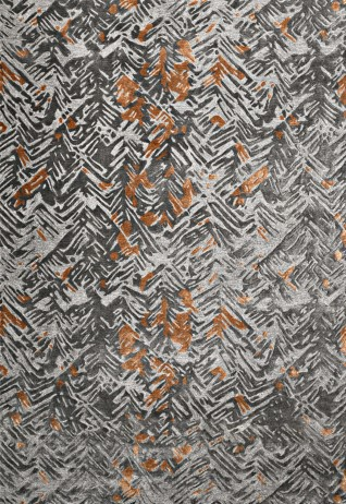 Spruce Charcoal Rust Carpets & Rugs