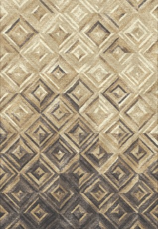 Lozenge Grey Beige Carpets & Rugs