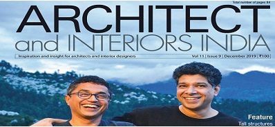 Hands Architects & Interiors India December 2019