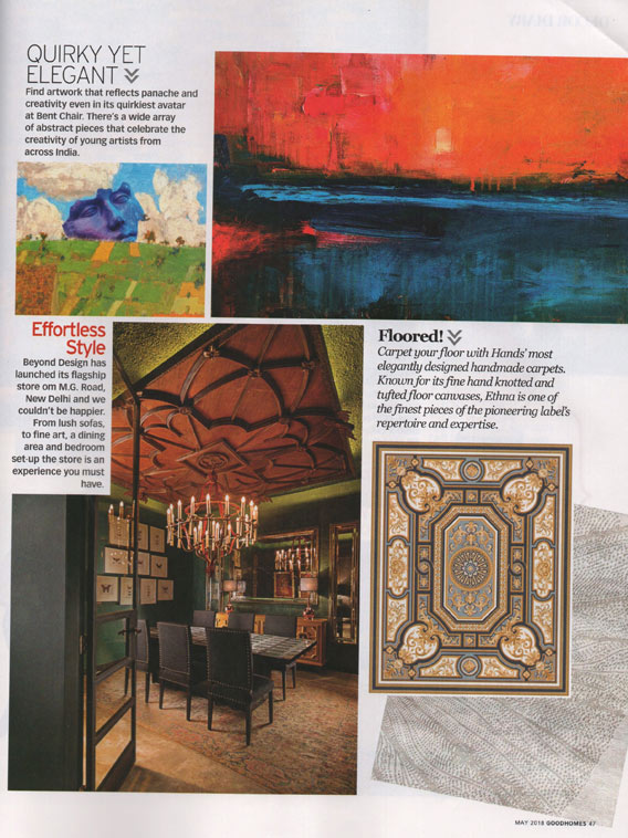Press Coverage - Hands Carpets - Good Homes May 2018