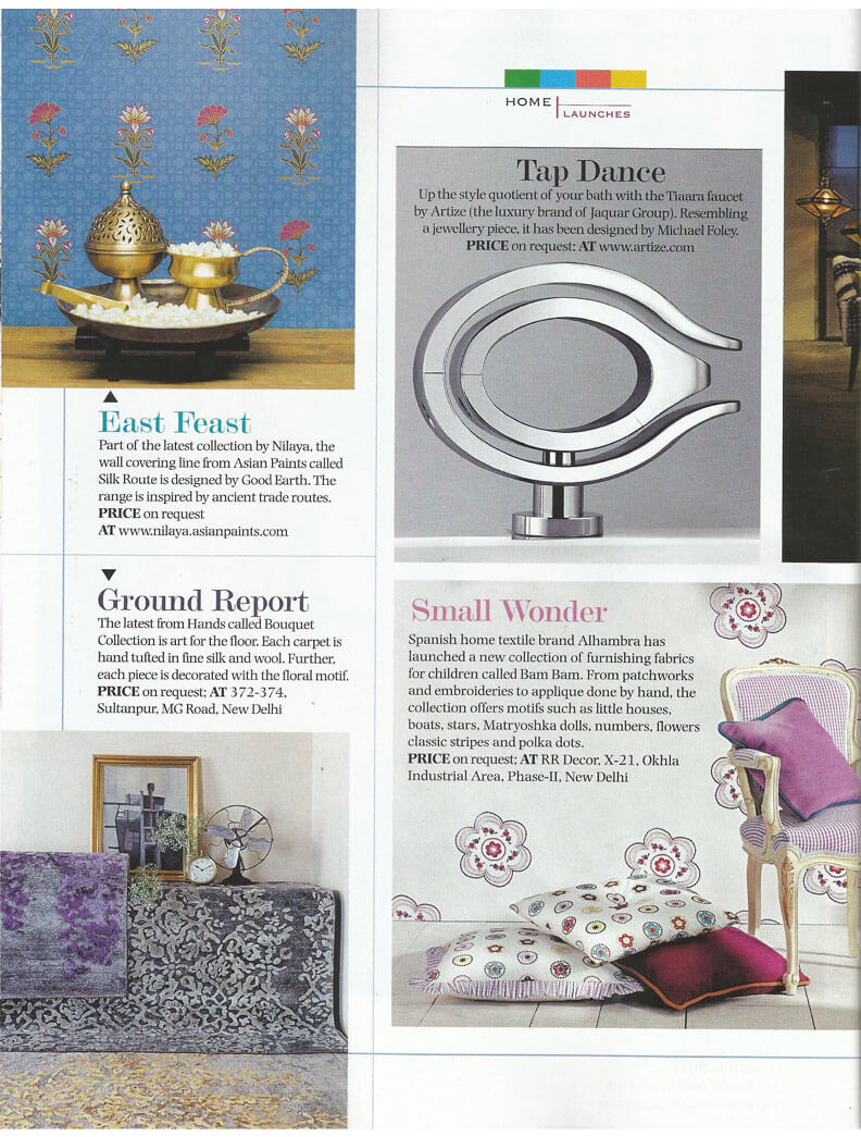 The Bouquet Collection again in India Today Home.