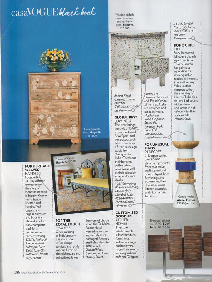 Casa Vogue Magazine