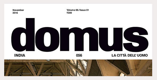 The Bouquet Collection getting more than a mention in Domus.